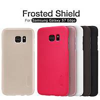 Чехол Nillkin Super Frosted Shield для Samsung G935F Galaxy S7 Edge (+ пленка)