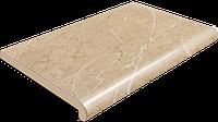 Подоконник Plastolit глянцевый бежевый мрамор 350 мм