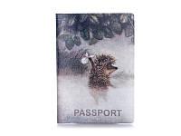 """Обложка для паспорта """"Ёжик в тумане"""", арт. ZIZ-10024"""
