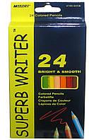 Карандаши цветные 24 цвета MARCO 4100-24CB Superb Writer