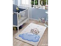 КОВРИК В ДЕТСКУЮ Confetti - Baby Elephant 01 голубой 100*150