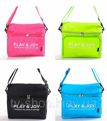 Термосумка 2 в 1 Play Joy  (черный)