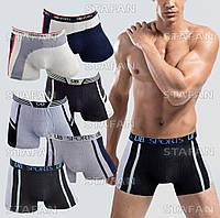 Мужские трусы боксеры UB 301 L 44-46. В упаковке 6 трусов