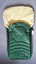 Хутряний конверт-чохол в санки на овчині Кидс, фото 2