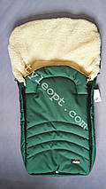 Меховой конверт-чехол в санки на овчине Кидс, фото 2