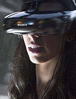 Персональный 3D-шлем Sony HMZ-T3W HMZT3 кинотеатр недорого, фото 1