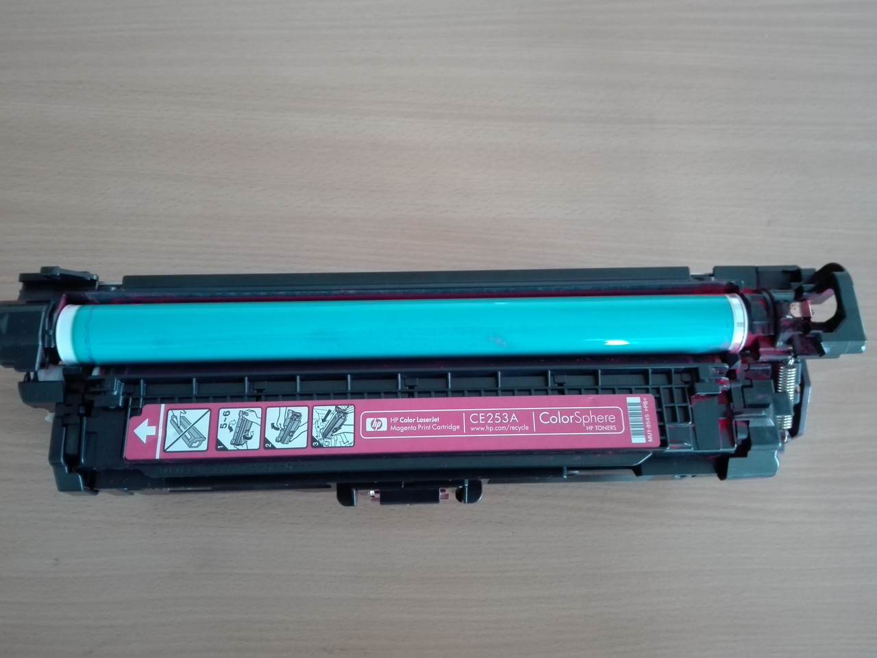 Картридж HP CLJ CM3530/ CP3525 series magenta (CE253A)