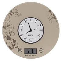 Кухонные часы/весы 5кг Mystery MES-1818