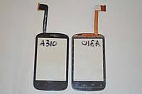 Оригинальный тачскрин / сенсор (сенсорное стекло) для HTC Explorer A310e (черный цвет) + СКОТЧ В ПОДАРОК