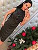 Платье с люрексом шнуровка 366, фото 3