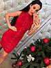 Платье с люрексом шнуровка 366, фото 8