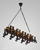 Люстра деревянная AR-003171 на цепях, фото 1