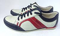 Дышащие кожаные кроссовки для мужчин