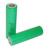 Samsung INR18650-25R 2500mah (green, до 30А) - высокотоковый аккумулятор для электронных сигарет. Оригинал