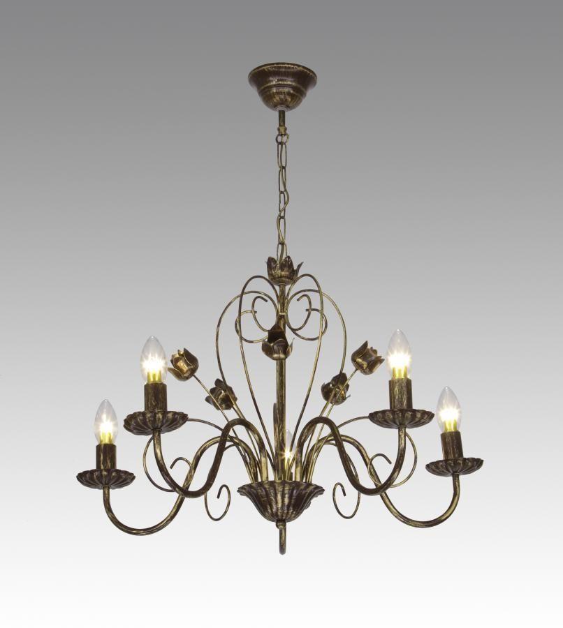 Люстра подвесная свечи 5 ламп AR-002961