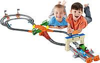 Моторизированная железная дорога Томас и друзья Большие гонки серия Track Master Fisher-Price Thomas