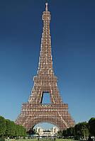 Схема для вышивки бисером Эйфелева башня
