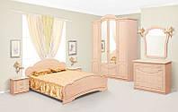 Спальный гарнитур Камелия, комплект мебели в спальню, цвет Клен