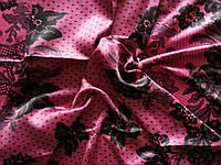 Шелковый платок Valentino розовый
