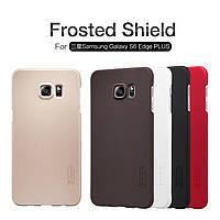 Чехол Nillkin Super Frosted Shield для Samsung Galaxy S6 Edge Plus + (пленка)