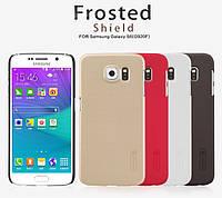 Чехол Nillkin Super Frosted Shield для Samsung Galaxy S6 G920F / G920D Duos + (пленка)