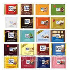 Шоколад Ritter Sport в ассортименте 100 г
