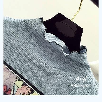 Женский свитер рисунок печать, фото 2