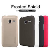 Чехол Nillkin Super Frosted Shield для Samsung J105H Galaxy J1 Mini / Galaxy J1 Nxt (+ пленка)