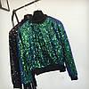 Женский свитер  с блестками