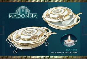 Мармит Madonna с ложкой 2,2л Bohmann MA-1140 (без ложки)