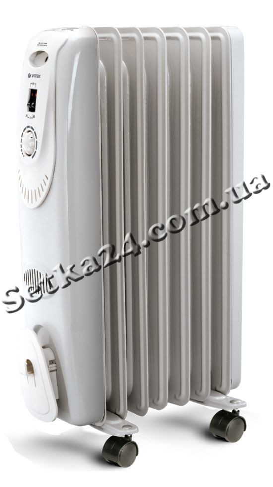 Масляный радиатор VITEK VT-1701 W