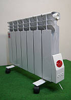 Эра+ Стандарт энергосберегающий электрорадиатор, жидкостный мини электро котел 4 секции