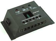 Контроллер заряда ACM 1012 12А 12В/24В для солнечных батарей.