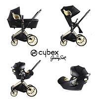 Детская универсальная коляска Cybex Priam 3в1 Wings by Jeremy Scott