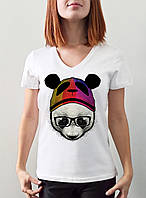 "Женская футболка ""Панда"""