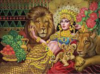 Схема для вышивки бисером Таинственная царица Савская