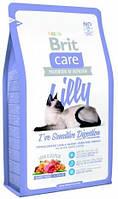 Brit Care Cat Lilly 7кг- корм с ягенком и лососем для кошек с чувствительным пищеварением