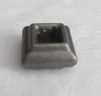 Насадка кованая квадратная с отверстием 22*33мм, фото 1