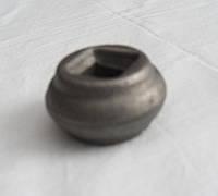 Насадка кованая круглая с отверстием 22*40мм