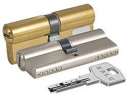 Цилиндровый механизм 164 BN/80 (30+10+40) mm 5 кл.