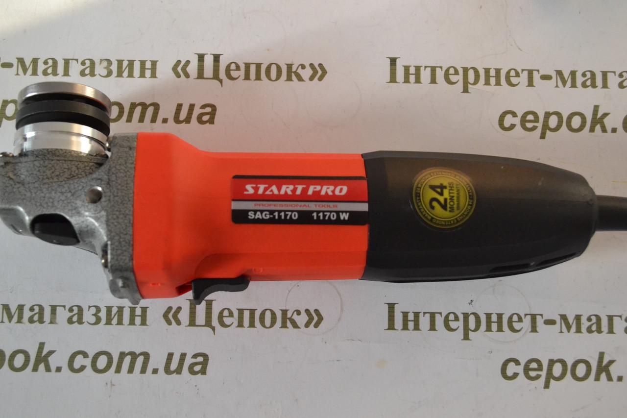 Кутова шліфмашина Start PRO SAG-125/1170, фото 1
