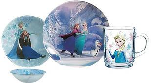Набор детский Luminarc Disney Frozen L0872 3пр.