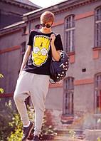 """Футболка мужская с принтом """"Барт Симпсон"""" Bart Simpson Swag"""