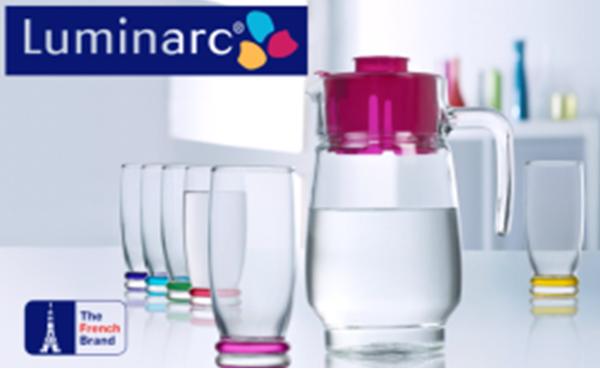 Набор для напитков Luminarc Rainbow J9039, 7 предметов