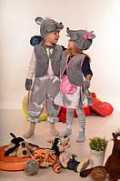 Карнавальный костюм Мышка-девочка и мышка-мальчик