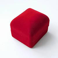 Футляр для кольца 53474 красный, размер 4.5*5.5 см