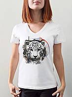 "Женская футболка ""Тигрица"""