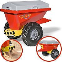 Прицеп 2-х колесный  Rolly toys Streumax Trailer красный