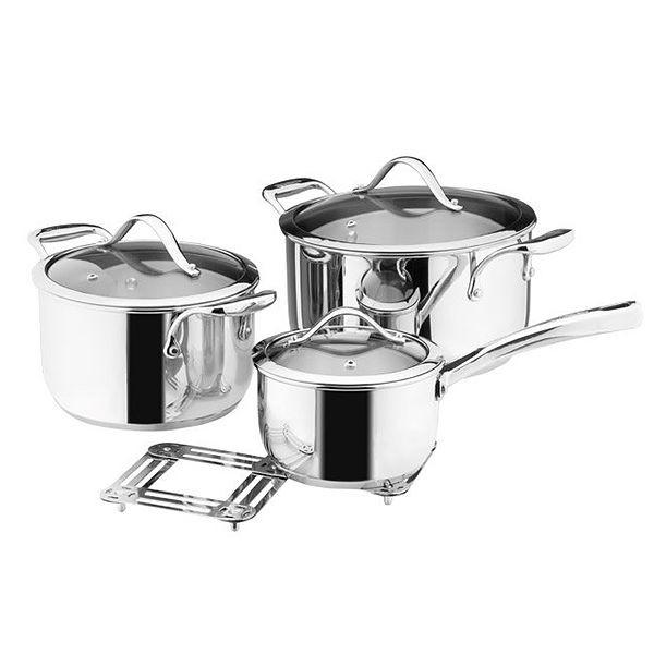 Набор кастрюль Vinzer Chef 89028 7 предметов