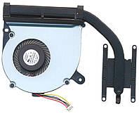 Кулер (вентилятор) с радиатором Asus X402 X402C X402CA X502 (система охлаждения, термомодуль) 13NB0091AM0101